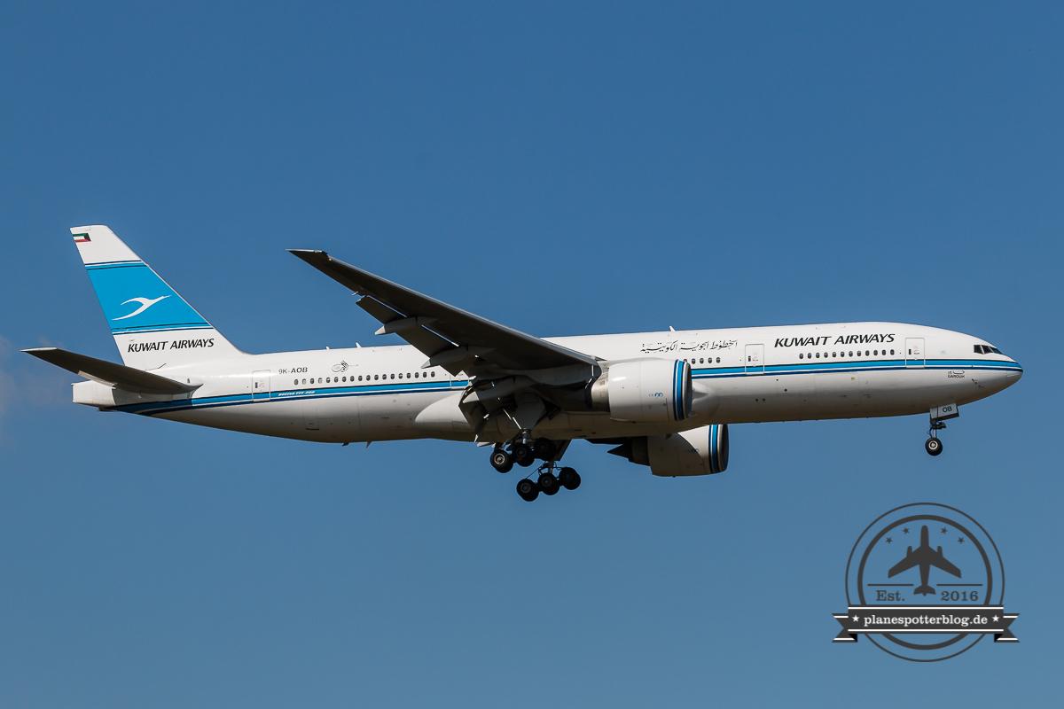 Boeing B777-200 Kuwait Airways 9K-AOB