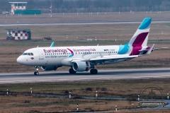Eurowings A320-200SL D-AEWM Boomerang Club cs