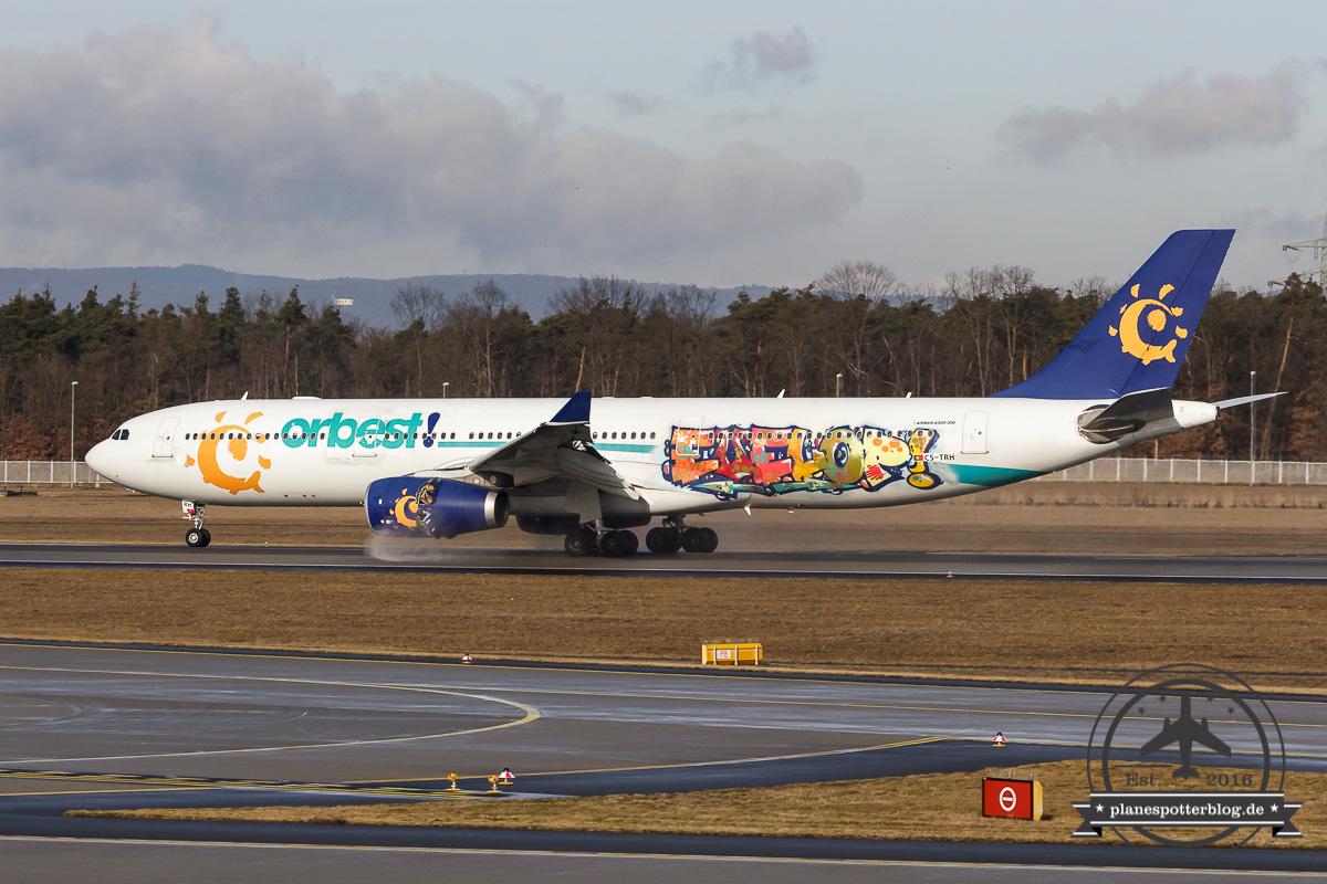 Evelop A330-300 CS-TRH Orbest cs Evelop Grafitti