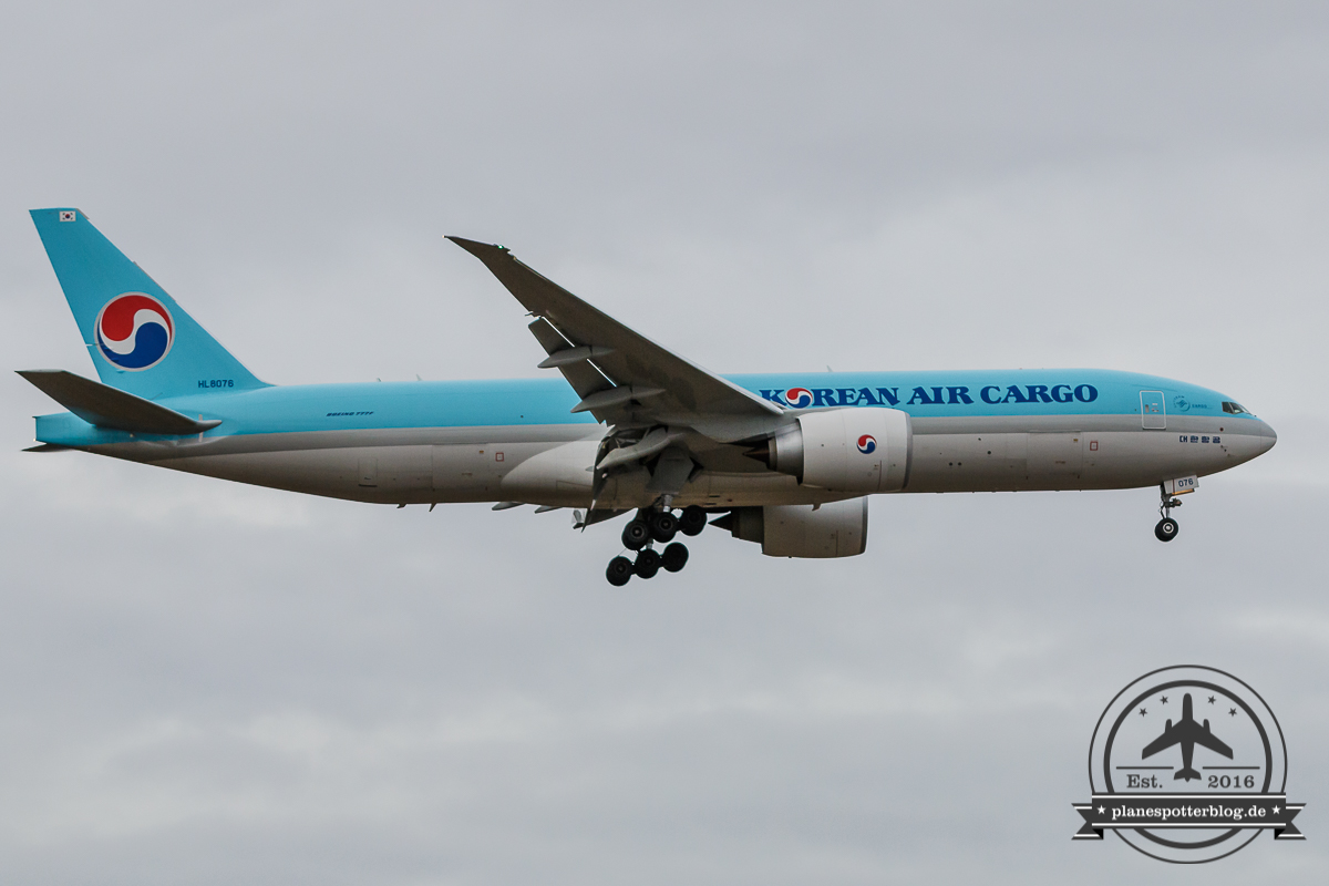 Korean Air Cargo B777F HL6078