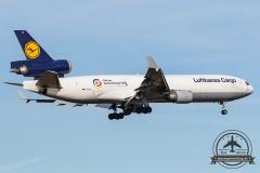 Lufthansa Cargo MD-11F D-ALCC Deutschland Hilft