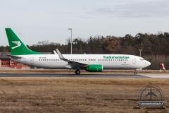 Turkmenistan Airlines B737-800 EZ-A016