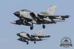inbound ETNN Final 2Ship Formation Italian Air Force Tornado IDS