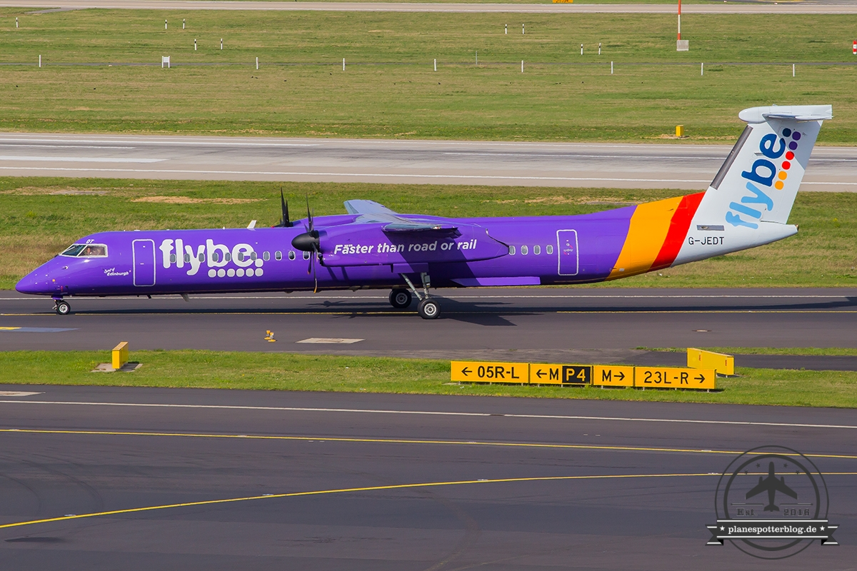 G-JEDT Flybe De Havilland Canada DHC-8-400 - cn 4088