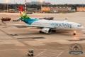Air Seychelles taxi zur Startbahn