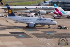 D-AINE Lufthansa Airbus A320neo - cn 7103
