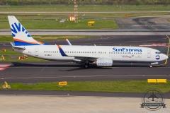D-ASXJ SunExpress Germany Boeing 737-800 - cn 30807 / 829