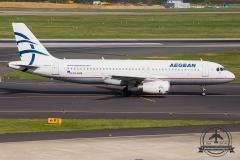SX-DVM Aegean Airlines Airbus A320-200 - cn 3439