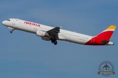 EC-HUI Iberia Airbus A321-212 - cn 1027