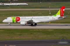 CS-TPQ TAP Express Embraer ERJ-190LR (ERJ-190-100 LR) - cn 19000450