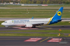 UR-PSM Ukraine International Airlines Boeing 737-8FZ(WL) - cn 29674 / 3140