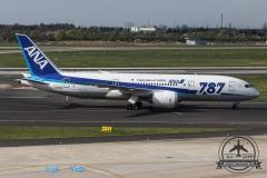 All nippon Airways B787-8 JA813A