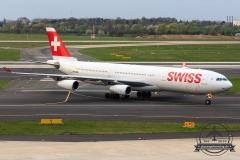 SWISS A340-300 HB-JMB