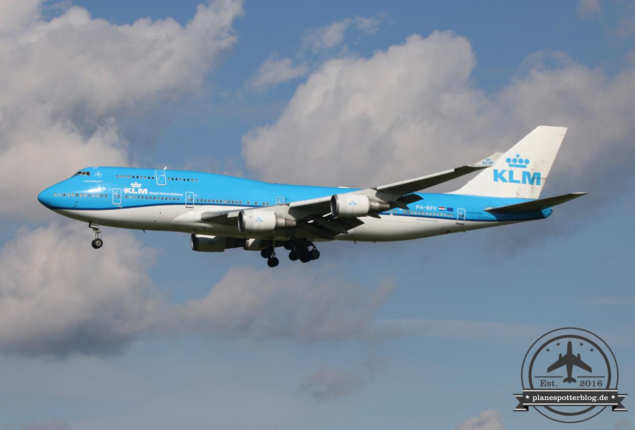 KLM B747-400 PH-BFV