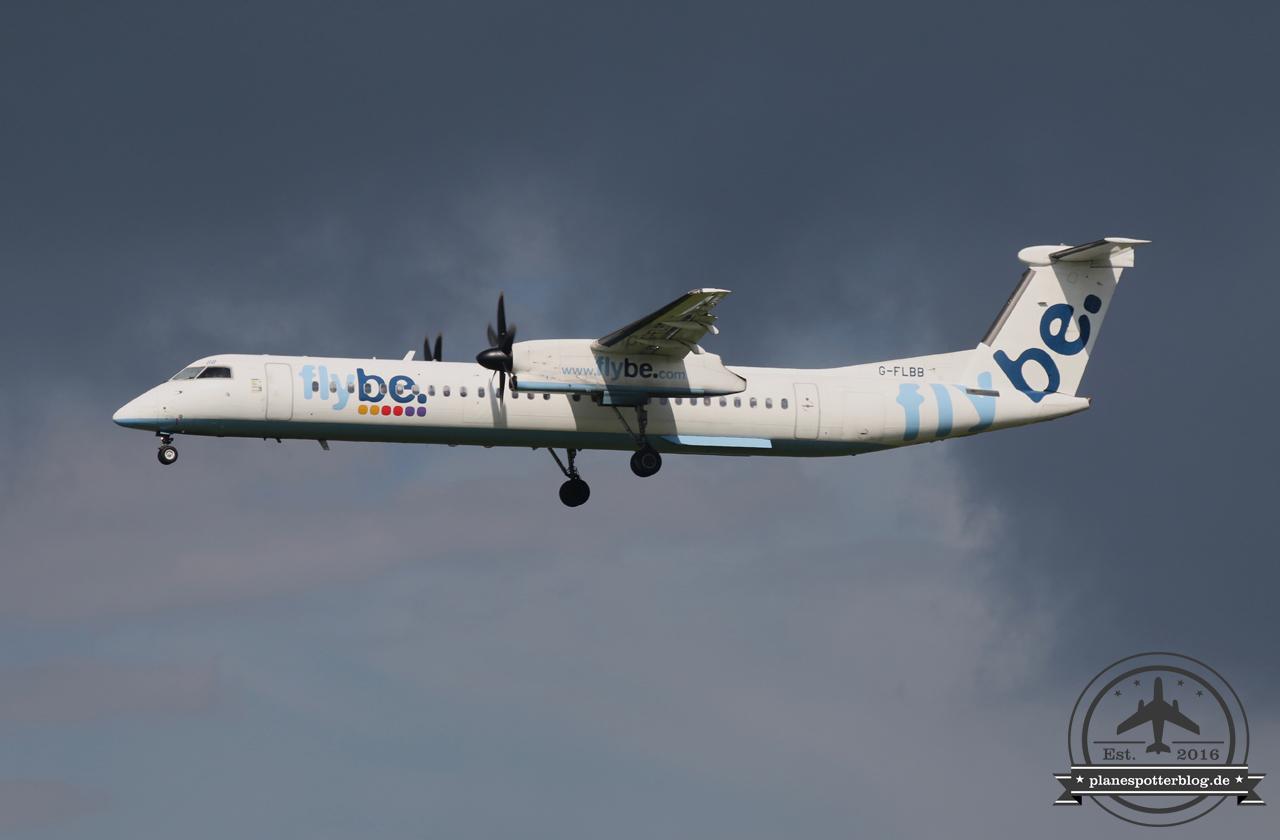 Flybe Dash8Q400 G-FLBB