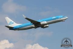 KLM B737-800 PH-BXU