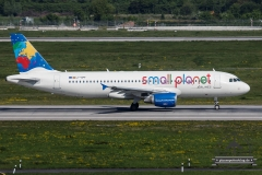 Small Planet A320-200 LY-SPF