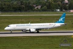 Montenegro Airlines ERJ-195LR 4O-AOA