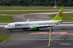 S7 Airlines B737-800 VQ-BKW