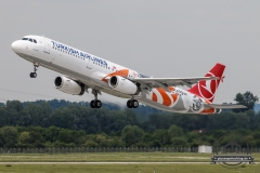 Turkish Airlines A321-200 TC-JRO Euroleague cs
