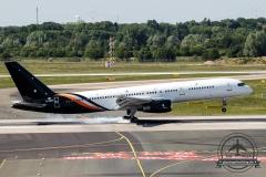 Titan Airways B757-200 G-ZAPX