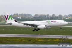 Wamos A330-200 EC-MJS kurz vor dem Touchdown