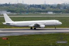 Titan Airways A321-200 G-POWN all white
