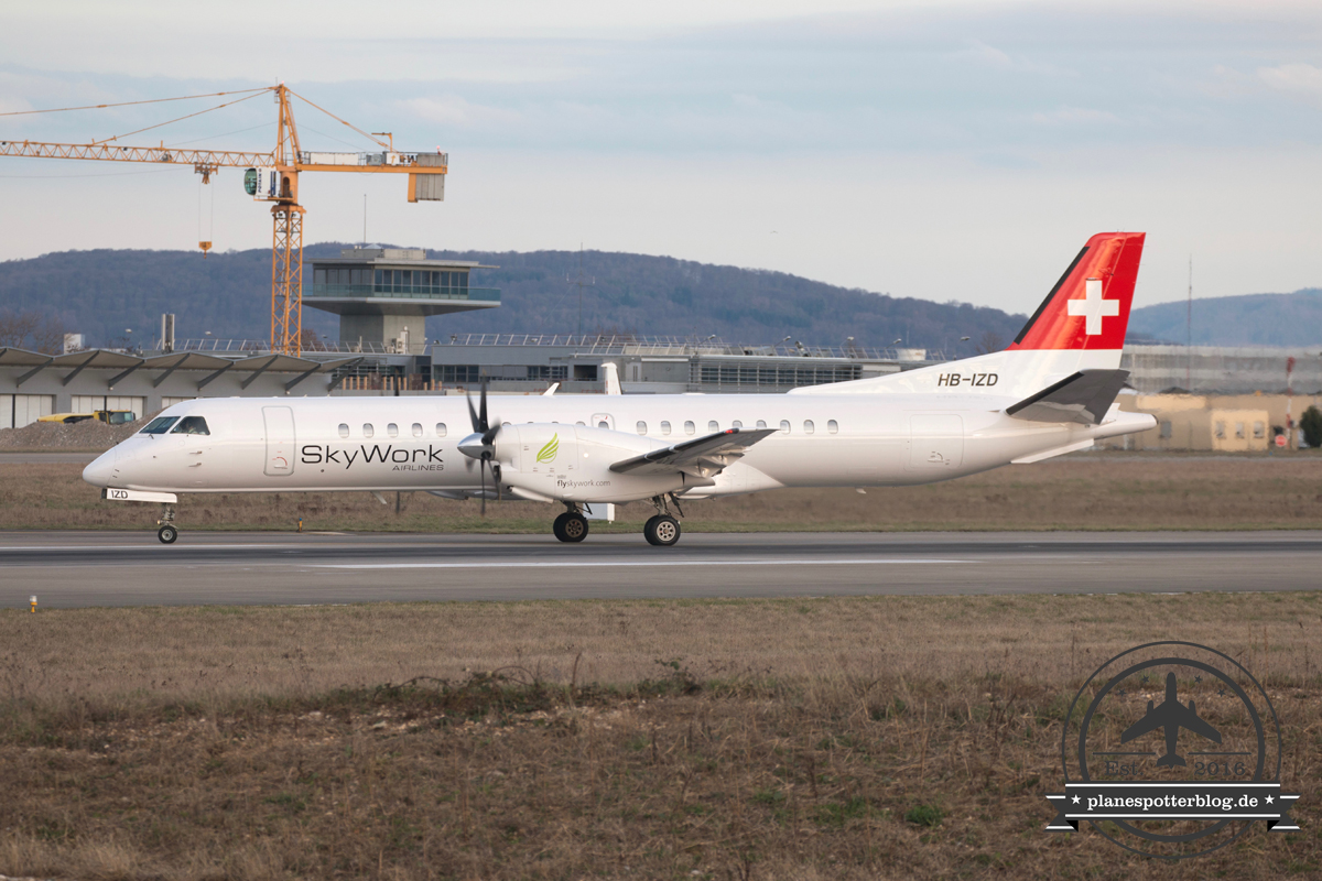 Skywork Saab2000 HB-IZD