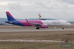 Wizz A321 HA-LXE