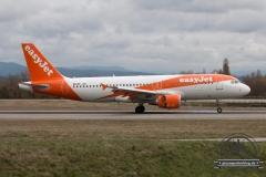 EasyJet A320 HB-JZR