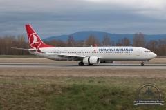 Turkish Airlines B737-900 TC-JYA