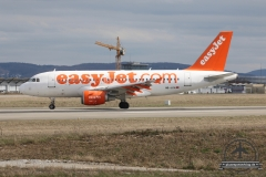 EasyJet A319 HB-JYH