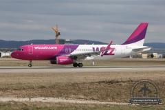 Wizz A320 HA-LYE