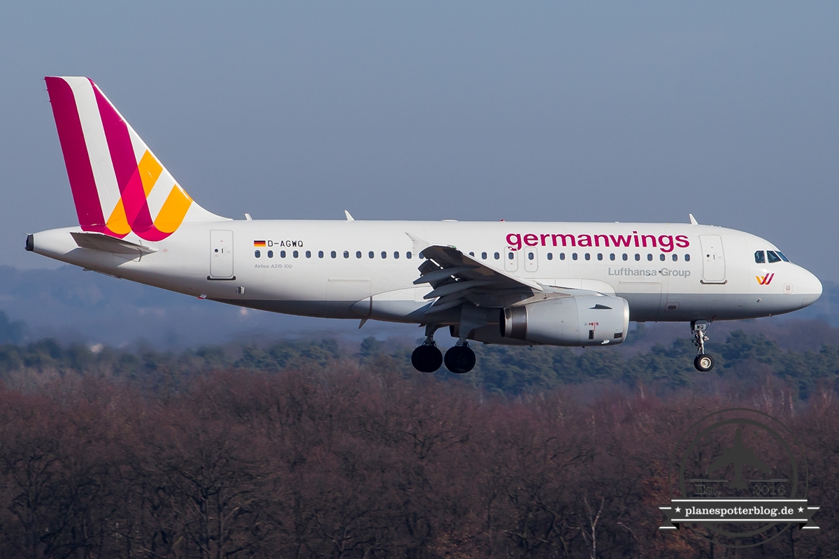 Germanwings D-AGWQ A319-100