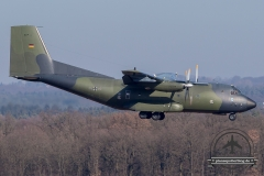 Luftwaffe 50+72 C-160D Transall