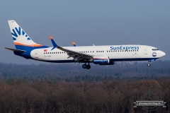 SunExpress TK TC-SNT B737-800