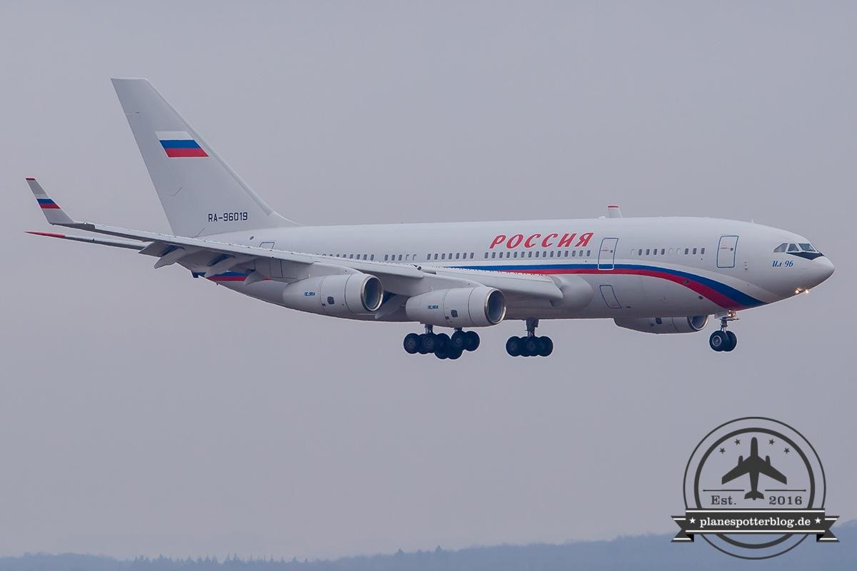 IL-96-300 RA-96019 Rossiya Russian State Transport