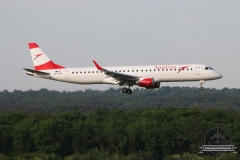 Austrian Airlines Embraer 190 OE-LWA