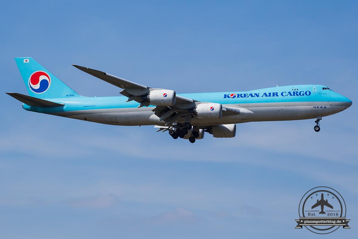HL7629 Korean Air Lines Boeing 747-8B5F - cn 37657 / 1516
