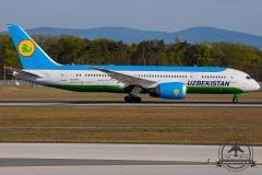 UK78702 Uzbekistan Airways Boeing 787-8 Dreamliner - cn 38364 / 495