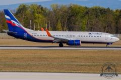 VP-BCG Aeroflot - Russian Airlines Boeing 737-8LJ(WL) - cn 41217 / 5840