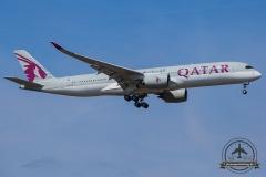 A7-ALD Qatar Airways Airbus A350-941 - cn 010