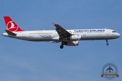 TC-JMN Turkish Airlines Airbus A321-231 - cn 2919