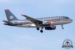 JY-AYN Royal Jordanian Airbus A319-132 - cn 3803