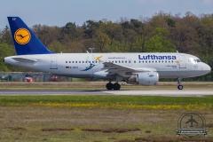 D-AILU Lufthansa Airbus A319-114 - cn 744