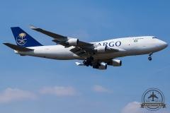 TF-AMM Saudi Arabian Airlines Boeing 747-4H6(BDSF) - cn 25700 / 974
