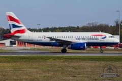 G-EUOB British Airways Airbus A319-131 - cn 1529
