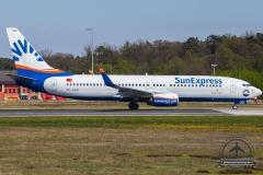 TC-SOD SunExpress Boeing 737-8HC(WL) - cn 61176 / 6335