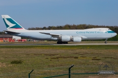 B-LJL Cathay Pacific Boeing 747-867F - cn 43536 / 1484