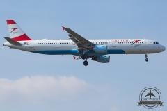 OE-LBF Austrian Airlines Airbus A321-211 - cn 1458